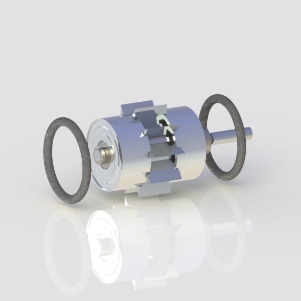 New Bien Air Bora dental replacement turbine for in-office handpiece repair.