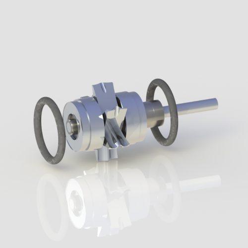 Vector Vx8-SLK Turbine for dentists from Chicago's Vector handpiece repair expert True Spin Dental