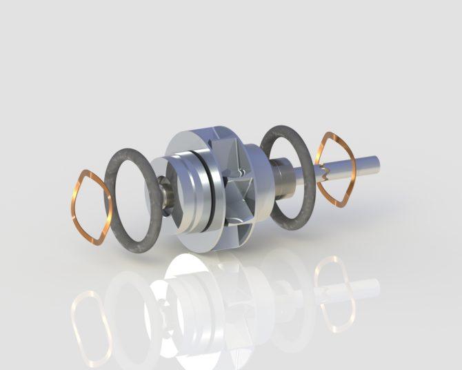 Vector Vx9-SLK Turbine for dentists from Chicago's Vector handpiece repair expert True Spin Dental